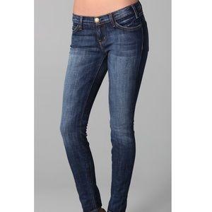 Current/Elliot The Skinny Raw Frayed Hem Jeans